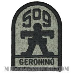 第509歩兵連隊(509th Infantry Regiment)[UCP(ACU)/メロウエッジ/ベルクロ付パッチ]の画像