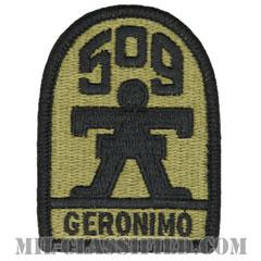 第509歩兵連隊(509th Infantry Regiment)[OCP/メロウエッジ/ベルクロ付パッチ]の画像