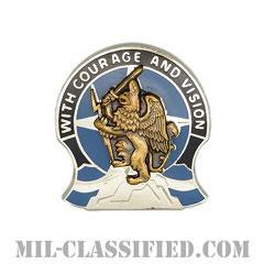 第201遠征軍事情報旅団(201st Military Intelligence Brigade)[カラー/クレスト(Crest・DUI・DI)バッジ]の画像