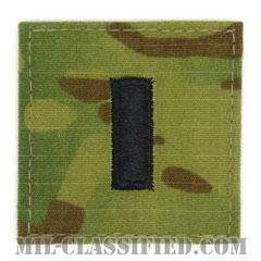 中尉(First Lieutenant (1LT))[OCP/階級章/ベルクロ付パッチ]の画像