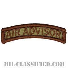 エアアドバイザータブ(空軍軍事顧問) (Air Advisor Tab)[OCP/メロウエッジ/ベルクロ付パッチ]の画像