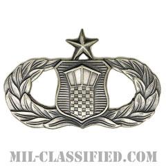 航空交通管制章 (シニア)(Air Traffic Control Badge, Senior)[カラー/燻し銀/バッジ]の画像