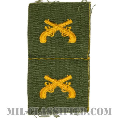 憲兵科章(Military Police Corps)[カラー/兵科章/HBT生地/パッチ/ペア(2枚1組)]の画像