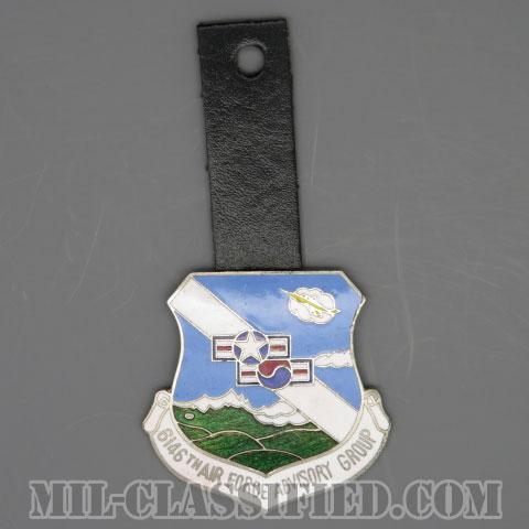 第6146在韓空軍軍事顧問群(6146th Air Force Korea Advisory Group)[カラー/バッジ/ポケットハンガー/1点物]の画像