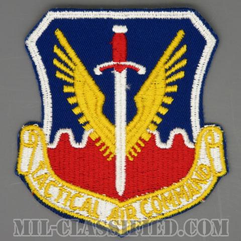戦術航空軍団(Tactical Air Command (TAC))[カラー/カットエッジ/パッチ/1960s/4インチ規格]の画像