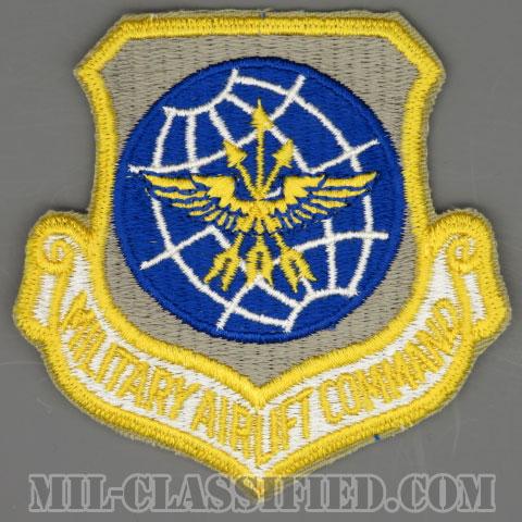 軍事空輸軍団(Military Airlift Command (MAC))[カラー/カットエッジ/パッチ/1960s/4インチ規格]の画像