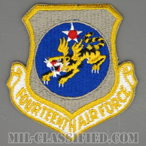 第14空軍(Fourteenth Air Force)[カラー/カットエッジ/パッチ/1960s/4インチ規格]の画像