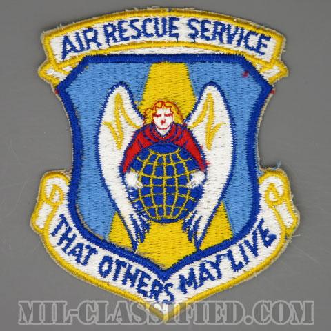 航空救難隊(Air Rescue Service)[カラー/カットエッジ/パッチ/1960s/4インチ規格]の画像