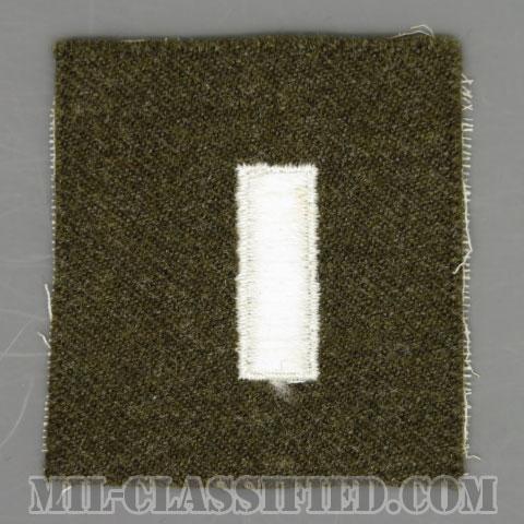 中尉(First Lieutenant (1LT))[カラー/ウール生地/階級章/パッチ]の画像
