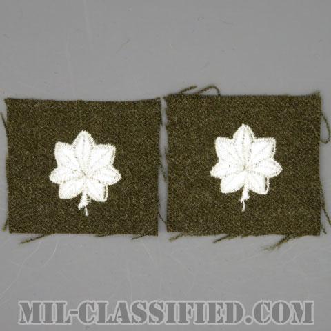 中佐(Lieutenant Colonel (LTC))[カラー/ウール生地/階級章/パッチ/ペア(2枚1組)]の画像