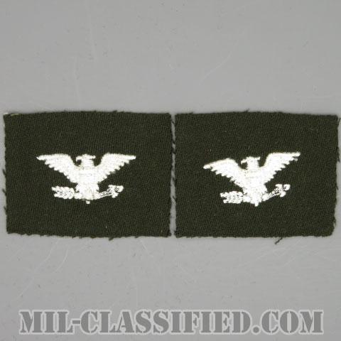 大佐(Colonel (COL))[カラー/ギャバジン生地/階級章/パッチ/ペア(2枚1組)]の画像
