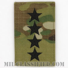 大将(General (GEN))[OCP/階級章/ベルクロ付パッチ]の画像