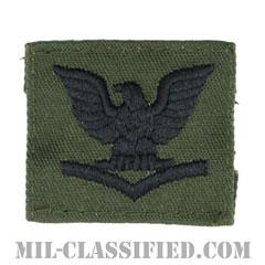 三等兵曹(Petty Officer Third Class)[サブデュード/海軍階級章/キャップ用/パッチ]の画像