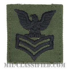 一等兵曹(Petty Officer First Class)[サブデュード/海軍階級章/キャップ用パッチ]の画像