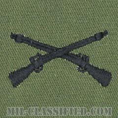 歩兵科章(Infantry Branch Insignia )[サブデュード/兵科章/パッチ/ペア(2枚1組)]の画像