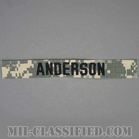 ANDERSON [UCP(ACU)/ブラック刺繍/ネームテープ/縫い付け用パッチ]の画像