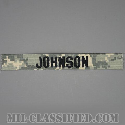 JOHNSON [UCP(ACU)/ブラック刺繍/ネームテープ/縫い付け用パッチ]の画像