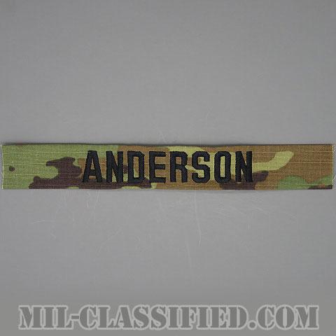 ANDERSON [OCP/ブラック刺繍/ネームテープ/縫い付け用パッチ]の画像