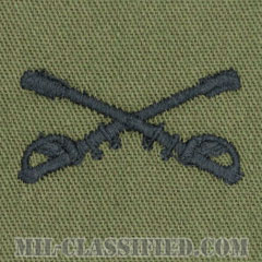 騎兵科章(Cavalry Branch Insignia)[サブデュード/兵科章/パッチ/ペア(2枚1組)]の画像