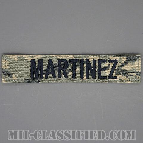 MARTINEZ [ABU/ブルー刺繍/空軍ネームテープ/ベルクロ付パッチ]の画像