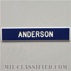 ANDERSON [アメリカ空軍用ネームプレート(名札)]の画像