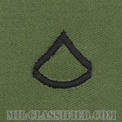 上等兵(Private First Class (PFC))[サブデュード/階級章/パッチ/ペア(2枚1組)]の画像