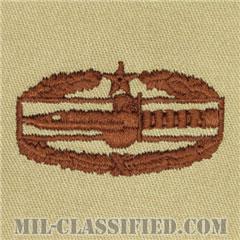戦闘行動章 (セカンド)(Combat Action Badge (CAB), Second Award)[デザート/パッチ]の画像