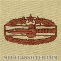 戦闘行動章 (フォース)(Combat Action Badge (CAB), Fourth Award)[デザート/パッチ]の画像