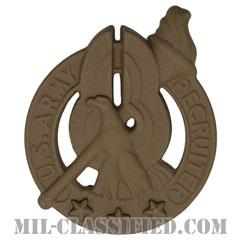 陸軍募兵章 (ゴールド)(Army Recruiter Badge, Gold)[サブデュード(ブラックメタル)/バッジ]の画像