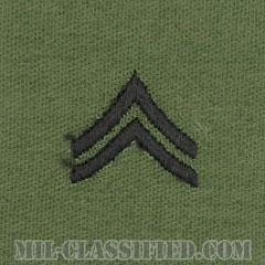 伍長(Corporal (CPL))[サブデュード/階級章/パッチ/ペア(2枚1組)]の画像