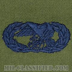 輸送章 (ベーシック)(Transportation Badge, Basic)[サブデュード/ブルー刺繍/パッチ]の画像