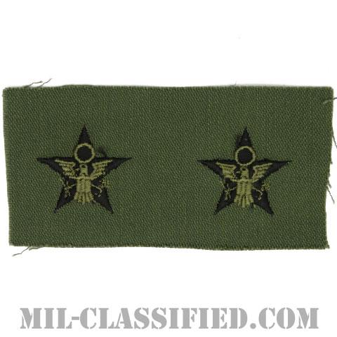 一般幕僚科章(General Staff)[サブデュード/兵科章/1960s/コットン100%/パッチ/ペア(2枚1組)]の画像
