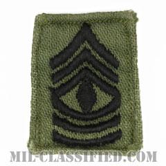 先任曹長(First Sergeant (1SG))[サブデュード/階級章/1960s/コットン100%/パッチ/中古1点物]の画像
