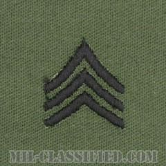 軍曹(Sergeant (SGT))[サブデュード/階級章/パッチ/ペア(2枚1組)]の画像