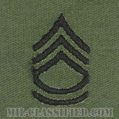一等軍曹(Sergeant First Class (SFC))[サブデュード/階級章/パッチ/ペア(2枚1組)]の画像