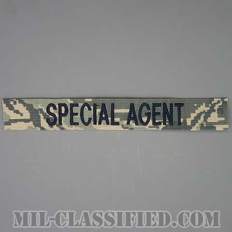 SPECIAL AGENT(Office of Special Investigations(OSI)/アメリカ空軍特別捜査局特別捜査官) [ABU/ブルー刺繍/空軍ネームテープ/生地テープパッチ]の画像