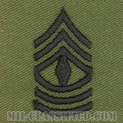 先任曹長(First Sergeant (1SG))[サブデュード/階級章/パッチ/ペア(2枚1組)]の画像