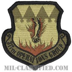 第317作戦群(317th Operations Group)[OCP/メロウエッジ/ベルクロ付パッチ]の画像