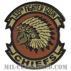 第335戦闘隊(335th Fighter Squadron)[OCP/カットエッジ/ベルクロ付パッチ]の画像