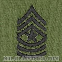 上級曹長(Sergeant Major (SGM))[サブデュード/階級章/パッチ/ペア(2枚1組)]の画像