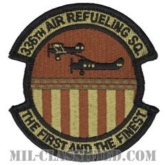 第336空中給油隊(336th Air Refueling Squadron)[OCP/メロウエッジ/ベルクロ付パッチ]の画像