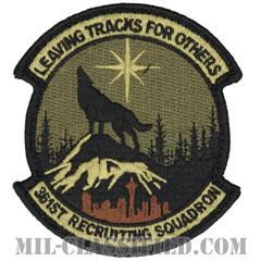 第361募兵隊(361st Recruiting Squadron)[OCP/メロウエッジ/ベルクロ付パッチ]の画像