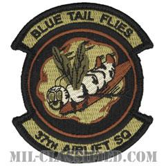 第37空輸隊(37th Airlift Squadron)[OCP/メロウエッジ/ベルクロ付パッチ]の画像