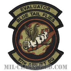 第37空輸隊 (エバリュエーター:評価者)(37th Airlift Squadron, Evaluator)[OCP/メロウエッジ/ベルクロ付パッチ]の画像