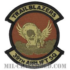 第39空輸隊(39th Airlift Squadron)[OCP/メロウエッジ/ベルクロ付パッチ]の画像