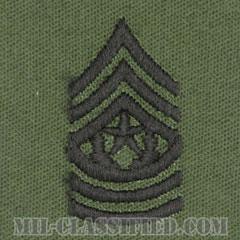 最先任上級曹長(Command Sergeant Major (CSM))[サブデュード/階級章/パッチ/ペア(2枚1組)]の画像
