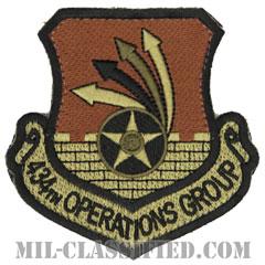 第434作戦群(434th Operations Group)[OCP/カットエッジ/ベルクロ付パッチ]の画像