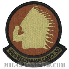 第44偵察隊(44th Reconnaissance Squadron)[OCP/メロウエッジ/ベルクロ付パッチ]の画像