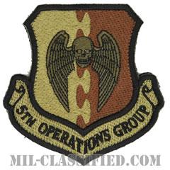 第5作戦群(5th Operations Group)[OCP/カットエッジ/ベルクロ付パッチ]の画像