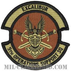 第5作戦支援隊(5th Operations Support Squadron)[OCP/メロウエッジ/ベルクロ付パッチ]の画像